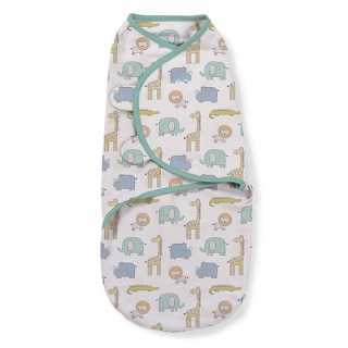 Gigoteuse bébé Swaddle me Safari 0-3 mois Summer Infant