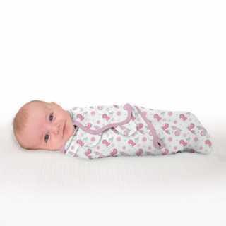 Lot de 2 gigoteuses bébé Swaddle me Oiseaux 0-3 mois Summer Infant
