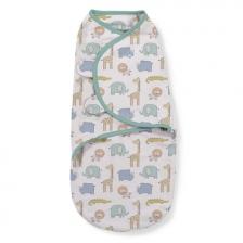 Lot de 3 gigoteuses bébé Swaddle me Safari 0-3 mois Summer Infant