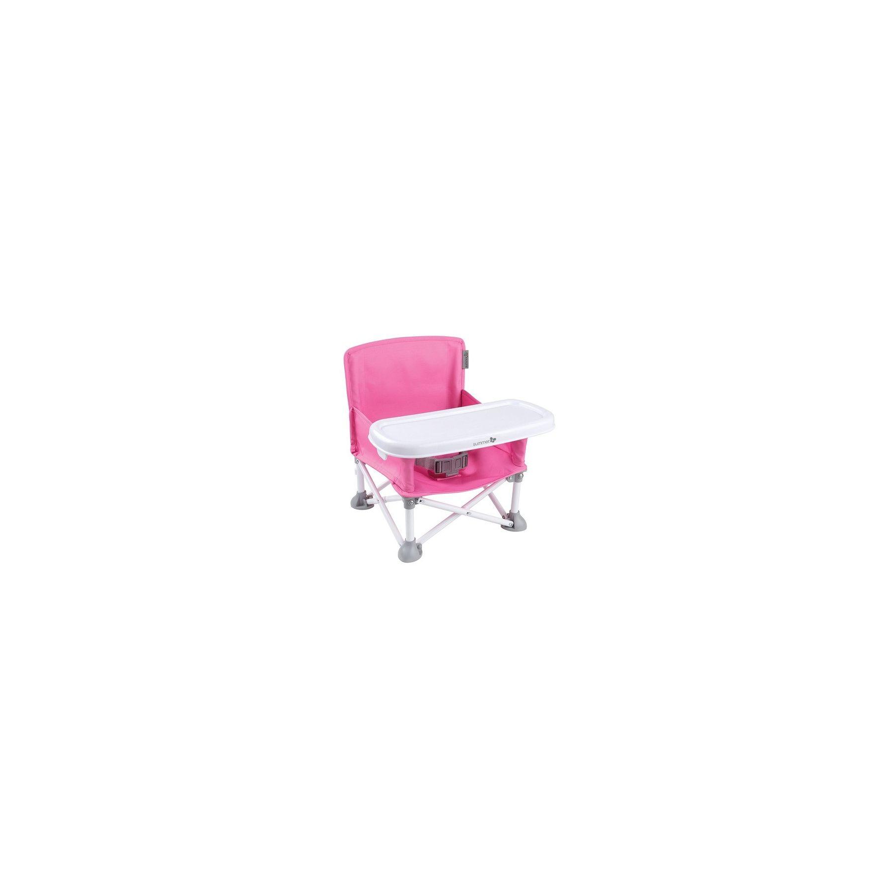 Siège rehausseur portatif Pop n Sit Rose Summer Infant