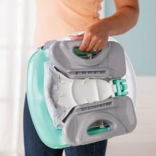 Siège d'appoint de luxe confort pliant Turquoise
