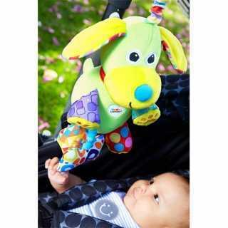 Jouet de voyage doudou bébé Puppy Le Chien Lamaze