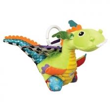 Jouet de voyage doudou bébé Flip Flap Le Dragon Lamaze