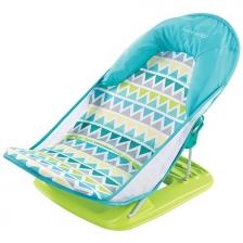 Baignoire bébé Deluxe Triangles Bleu et Vert Summer Infant