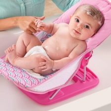 Baignoire bébé Deluxe Bubble Rose Summer Infant