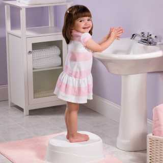 Pot Par Étape Blanc et Rose Summer Infant