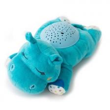 Veilleuse musicale Hippopotame Bleu Summer Infant