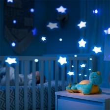 Veilleuse musicale Dinosaure Bleu et Orange Summer Infant