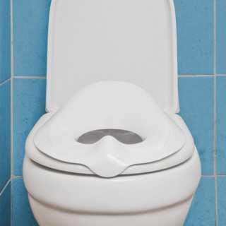 Réducteur de toilettes Universel Blanc