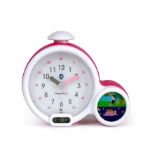 Mon premier réveil Kid Sleep Clock rose Claessens' Kid
