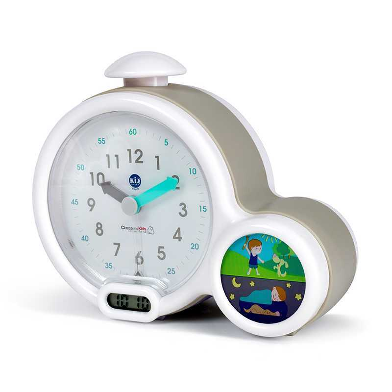 Mon premier réveil Kid Sleep Clock gris Claessens' Kid