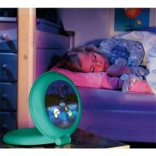 Réveil enfant Globetrotter Vert Claessens' Kid Kid'Sleep