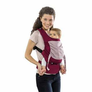 Porte-bébé Smart Carrier Bordeaux Amazonas