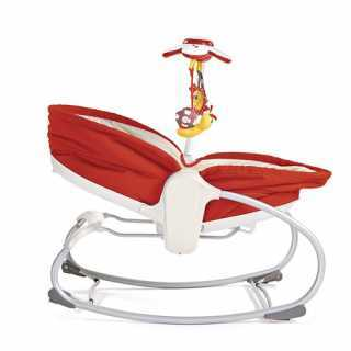 Transat bébé Rocker Napper 3 en 1 Rouge Tiny Love