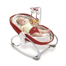 Transat bébé Rocker Napper 3 en 1 Rouge Tiny Love