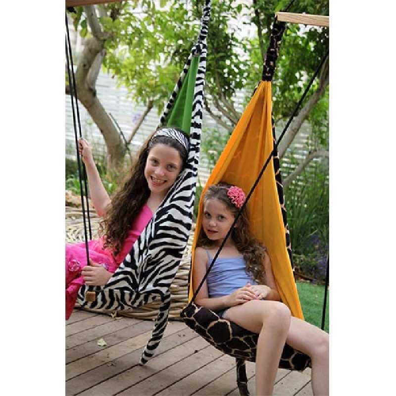 Fauteuil suspendu pour enfant Hang Mini zèbre Amazonas