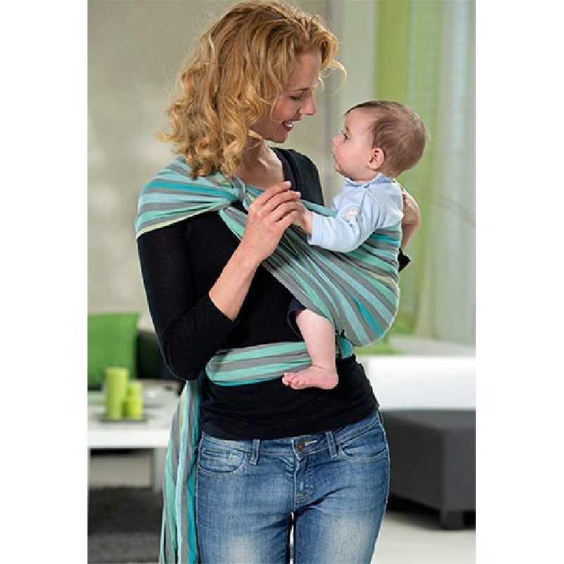 Echarpe de Portage bébé Carry Sling Pacific 510 cm Amazonas