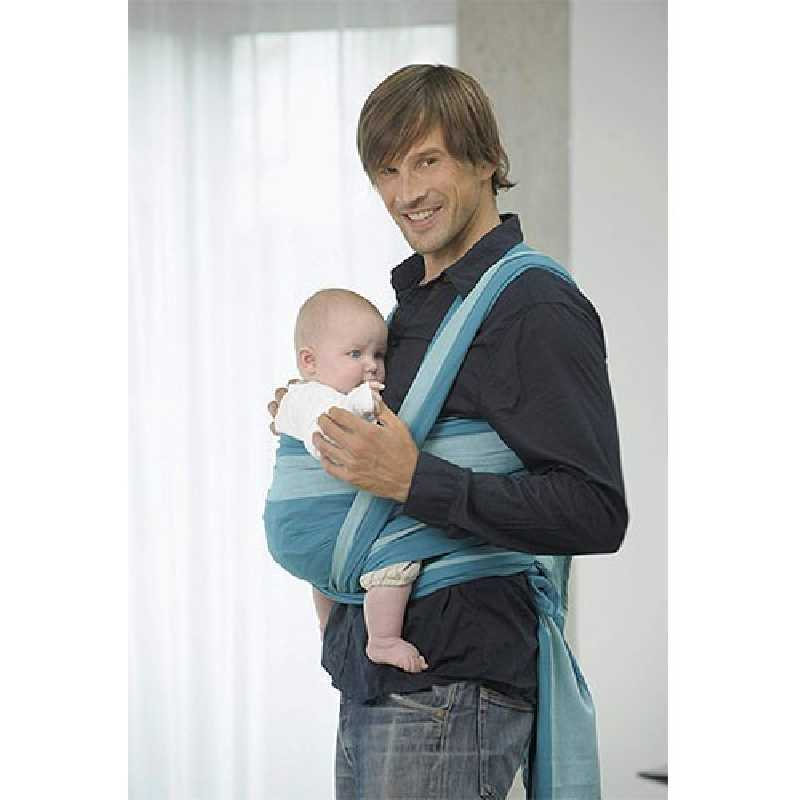 Echarpe de Portage bébé Carry Sling Carrageen 510 cm Amazonas