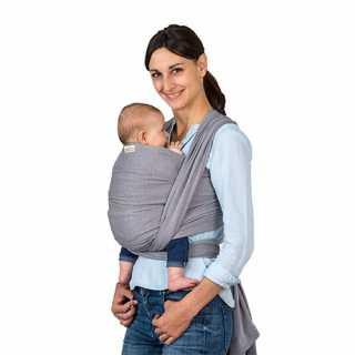 Echarpe de Portage bébé Carry Sling Gris 510 cm Amazonas