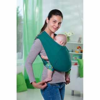 Echarpe de Portage bébé Carry Baby Petrol Amazonas