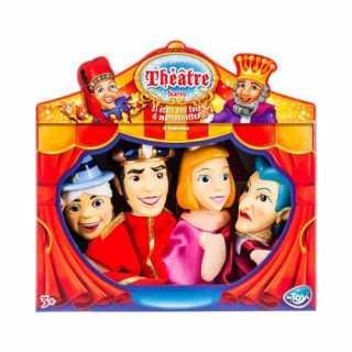 Marionnettes à main Théatre Il etait une fois Cendrillon Be Toys