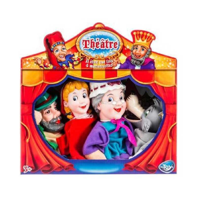 Marionnettes à main Théatre Chaperon Rouge Be Toys