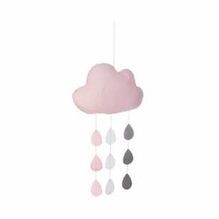 Nuage et gouttes suspendues Rose Atmosphera