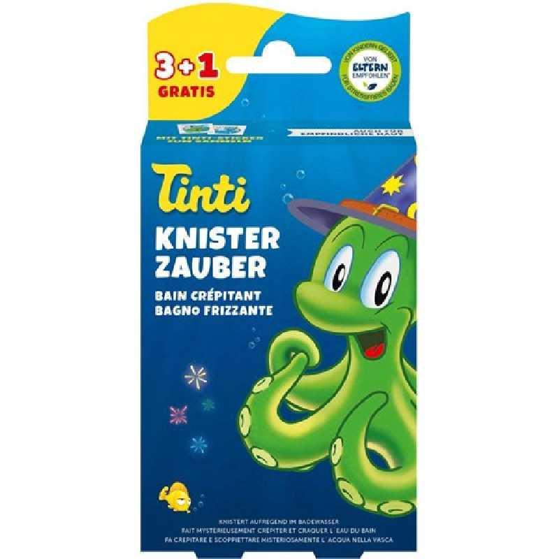 Bain Crépitant 3+1 pour enfant Tinti