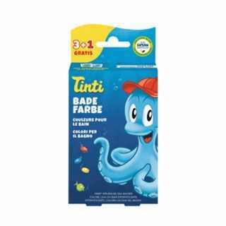 Couleurs en pastilles pour le bain 3+1 Tinti