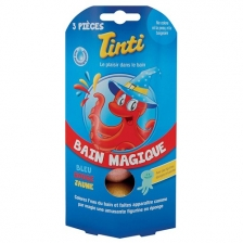 Bain Magique 3 Boules en 3 couleurs Tinti