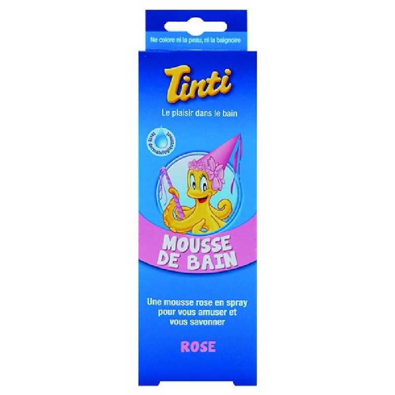 Mousse de bain rose Tinti