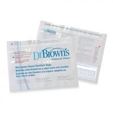 Set de 5 Sachets de stérilisation à la vapeur pour micro-ondes Dr Brown's