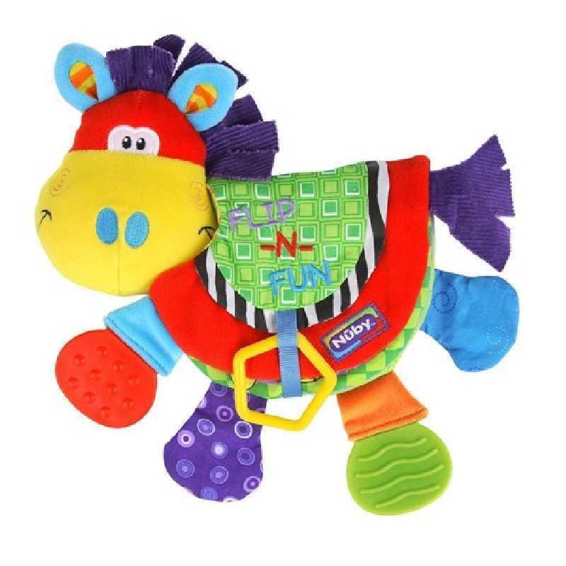 Livre de dentition en tissu multicolore Nuby