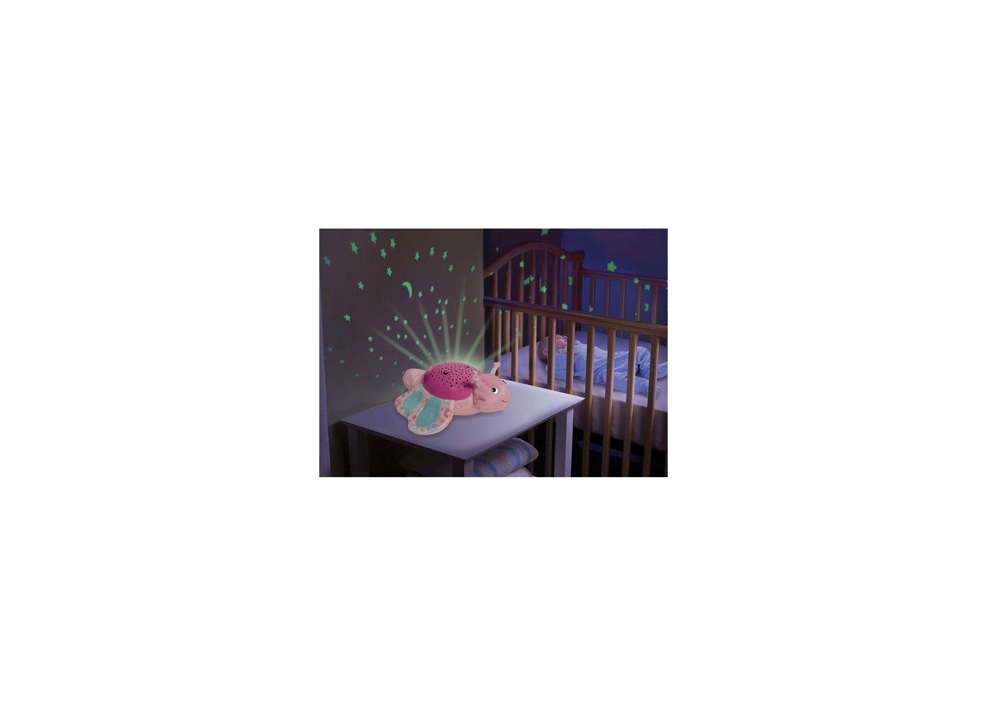 Veilleuse papillon interactif bébé Rose Summer Infant