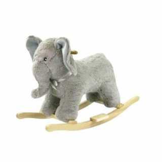 Elephant à bascule en bois BeToys