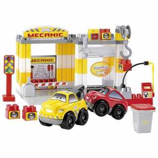 Garage auto station mecanique 70 pieces Ecoiffier