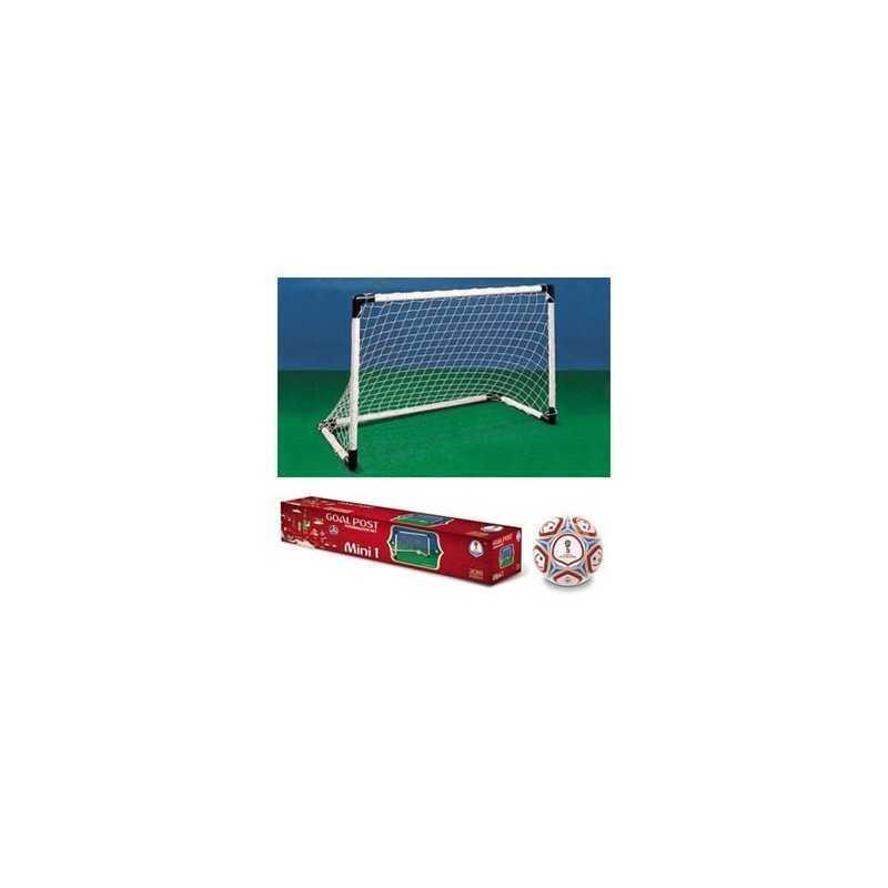 Kit mini cage de foot et ballon BeToys