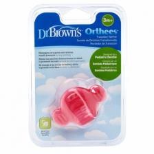 Sucette de dentition transitionnelle Rose Dr Brown's