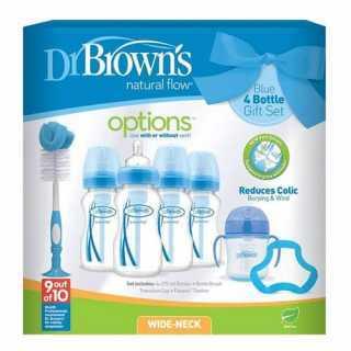 Coffret cadeau de naissance Bleu Dr Brown's