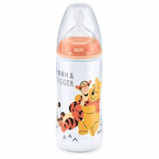 Biberon First Choice Winnie l'Ourson 300ml 0-6 mois Nuk