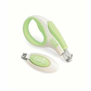 Set Coupe-Ongles Blanc / Vert Summer Infant