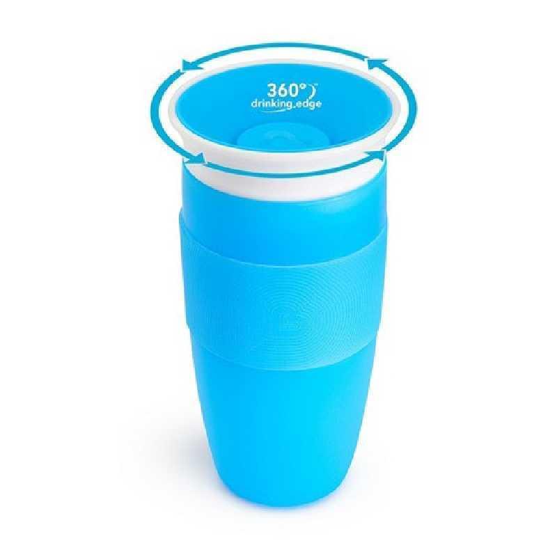 Tasse d'apprentissage 360° Miracle 414 ml Bleu Munchkin