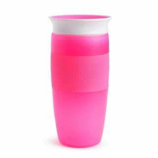 Tasse d'apprentissage 360° Miracle 414 ml Rose Munchkin