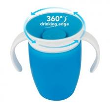 Tasse d'apprentissage 360° sans bec Miracle 207 ml Bleu Munchkin