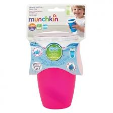 Tasse d'apprentissage 360° Miracle 296 ml Rose Munchkin