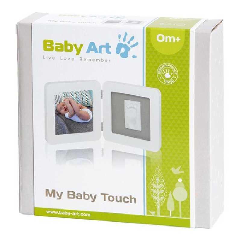 My Baby Touch Cadre Arrondi Blanc Baby Art
