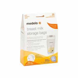 Lot de 25 sachets de conservation pour lait maternel Medela